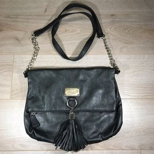 Nine West Black Crossbody Bag with Tassel